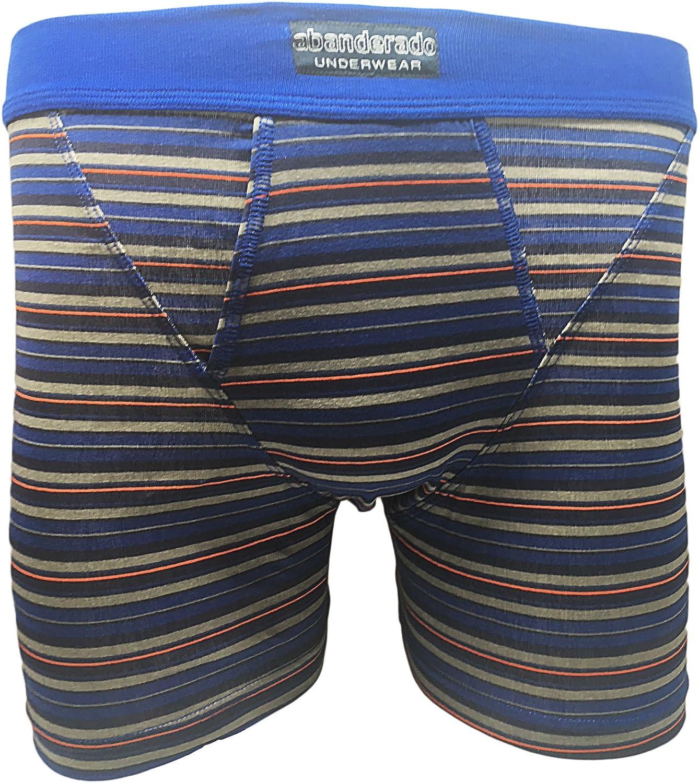 Abanderado Boxer abierto x 2 moda, Hombre, Azul (Tamaño del fabricante:M/48): Amazon.es: Ropa y accesorios