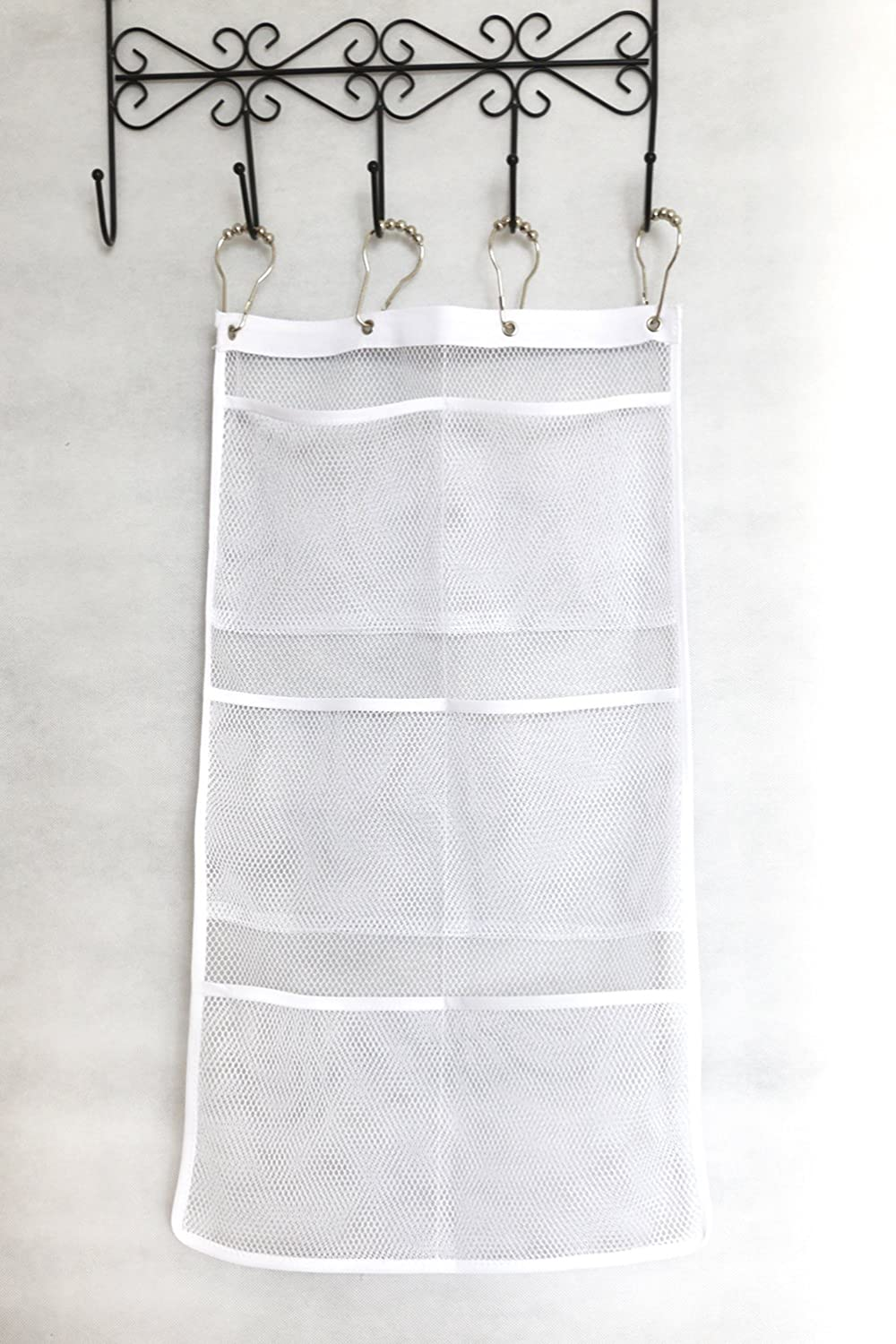 Amazon.com: Quick Dry Hanging Caddy and Bath Organizer with 6 ...