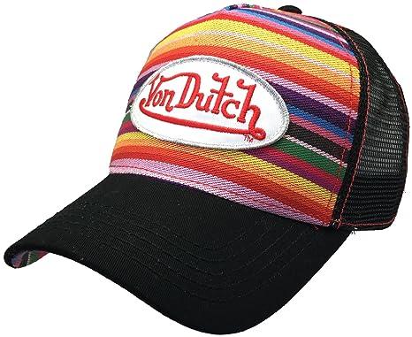 ad06dfd9 Von Dutch VDHT138, Trucker Hat with Logo Patch Baseball Hat (Mexicana)