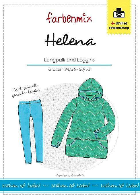 Farbenmix Helena Patrón de Costura para Confeccionar Camisas ...