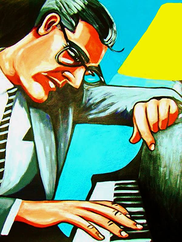 Bill Evans Trio Reproduction Jazz Poster Size: A2 Home Wall Art