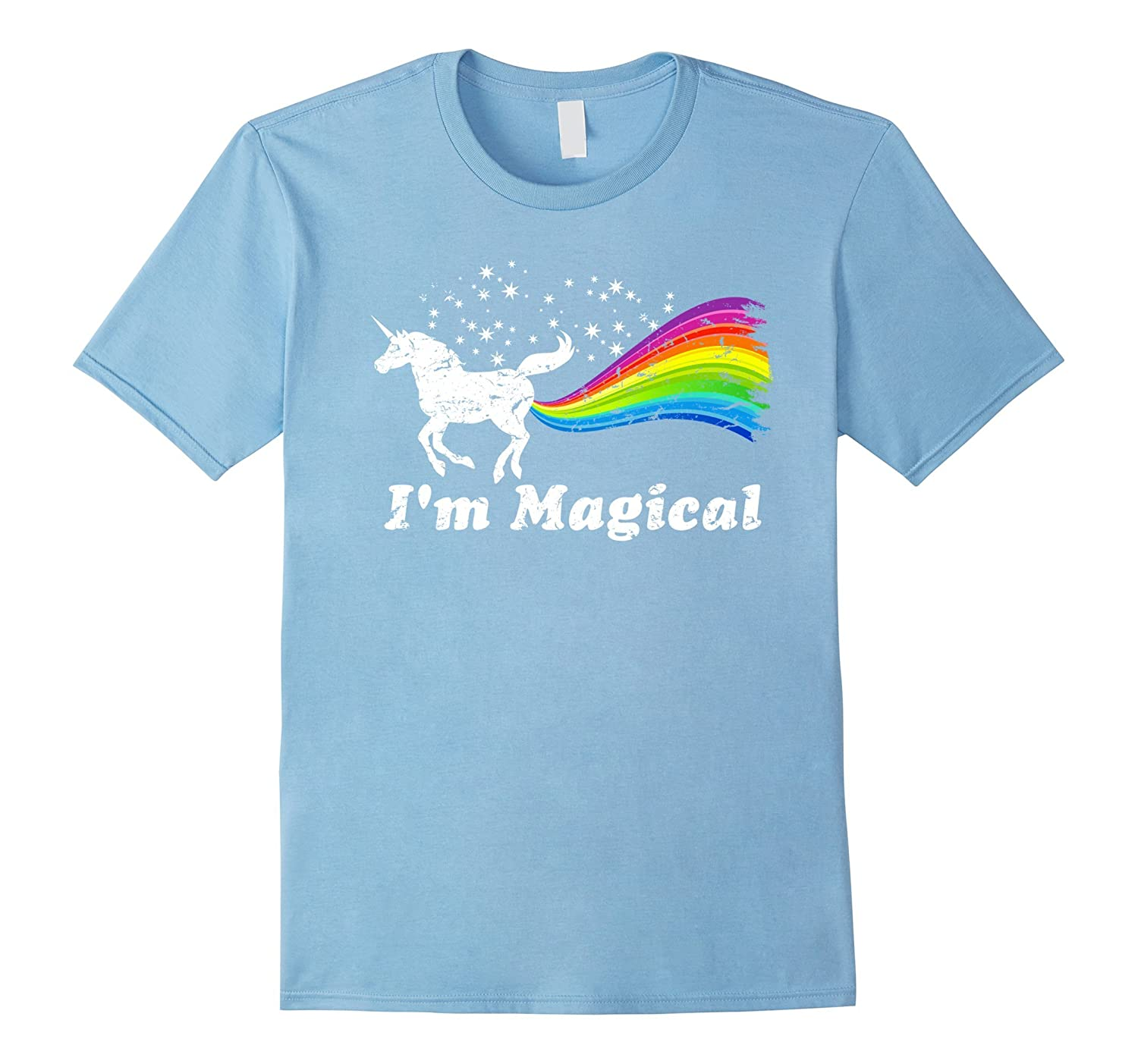 Im Magical Farting Rainbow Unicorn Shirt - Funny Tee ...