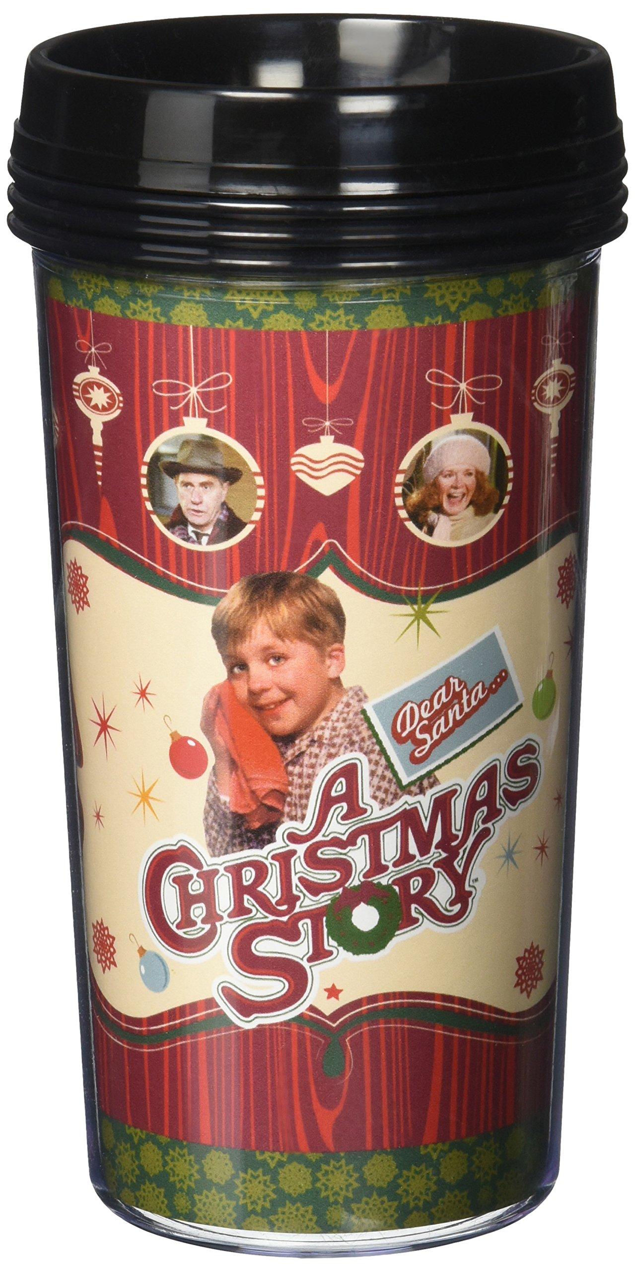 ICUP a Christmas Story Travel Mug, Clear