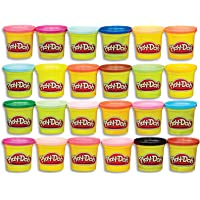 Play-Doh Modeling Compound 24-Pack Case of Colors, Non-Toxic, Multi-Color, 3-Ounce Cans, Ages 2 and up, Multicolor (Amazon Exclusive)