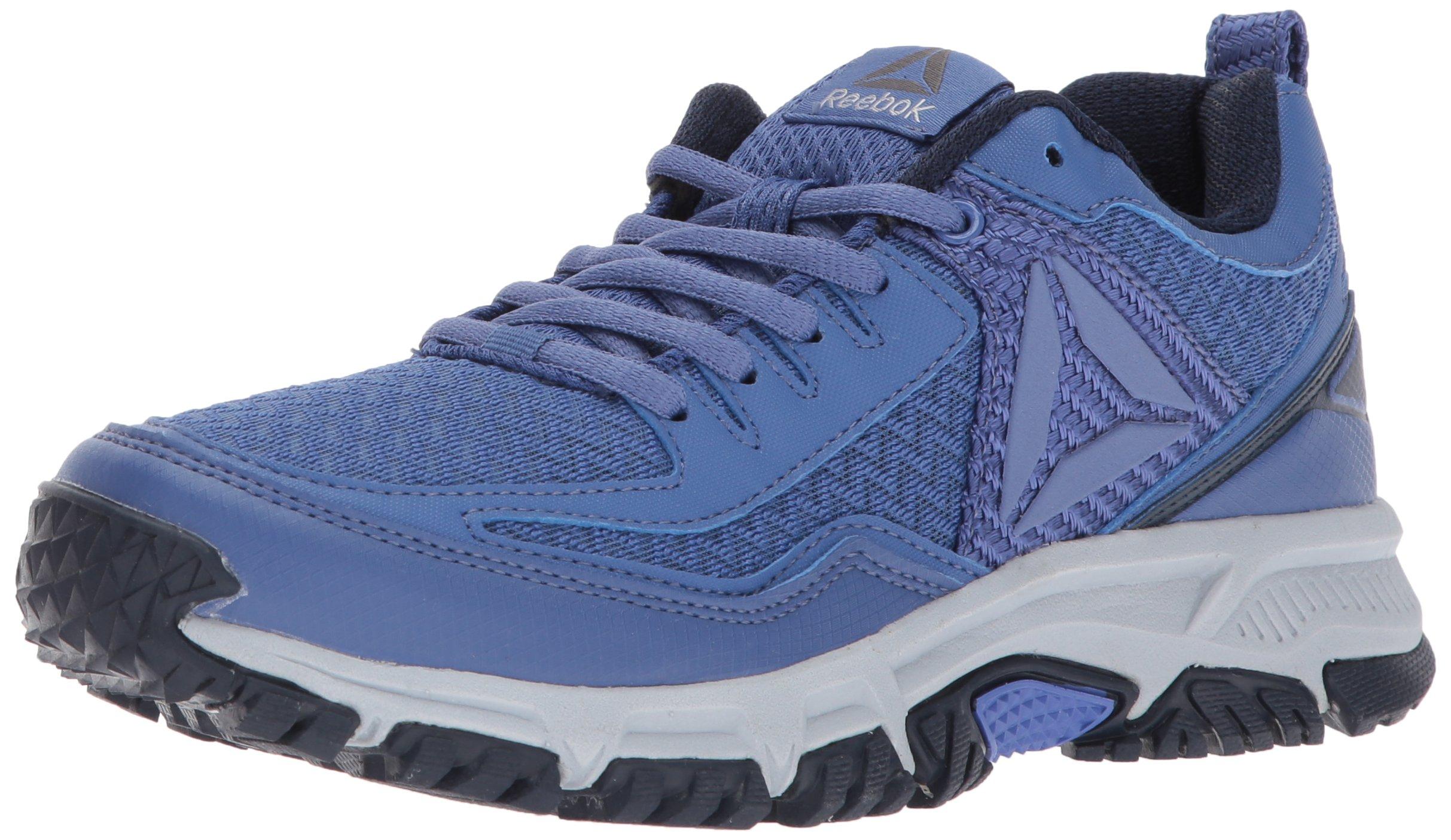 Reebok Women's Ridgerider Trail 2.0 Track Shoe, Lilac Shadow/Coll. Navy/Cloud Grey/Silver/Pewter/Black, 6 M US