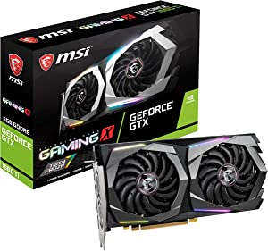 MSI Gaming GeForce GTX 1660 Ti 192-bit HDMI/DP 6GB GDRR6 HDCP Support DirectX 12 Dual Fan VR Ready OC Graphics Card (GTX 1660 TI Gaming X 6G) (Renewed)