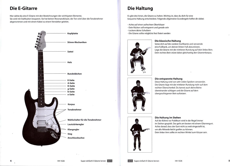 Aprendizaje de guitarra eléctrica muy sencillo, la escuela ideal para principiantes y principiantes, libro de aprendizaje con CD, DVD y Dunlop Plek.: Amazon.es: Instrumentos musicales