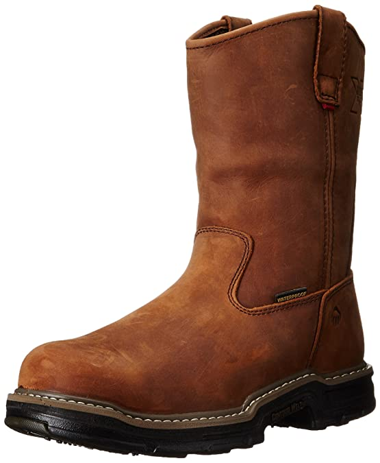 b01f557676e Wolverine Men's Marauder W02165 Waterproof Work Boot