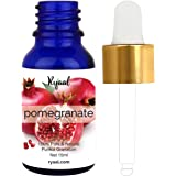 Pomegranate Seed Oil by Ryaal - 100% Pure Organic Unrefined Cold Pressed Antioxidant Moisturizer for Hair Skin and Nails