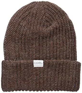 54cbb255409 Amazon.com  Coal Men s the Edward Heavy Gauge Rib Knit Beanie Hat ...