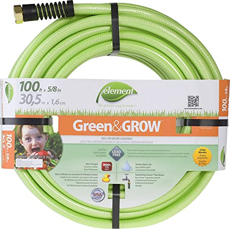 Swan Products Element ELGG58100 Green/Grow Lead-Free Drinking Water Safe Garden Hose  sc 1 st  Amazon.com & Amazon.com : Swan Products Element ELGG58100 Green/Grow Lead-Free ...