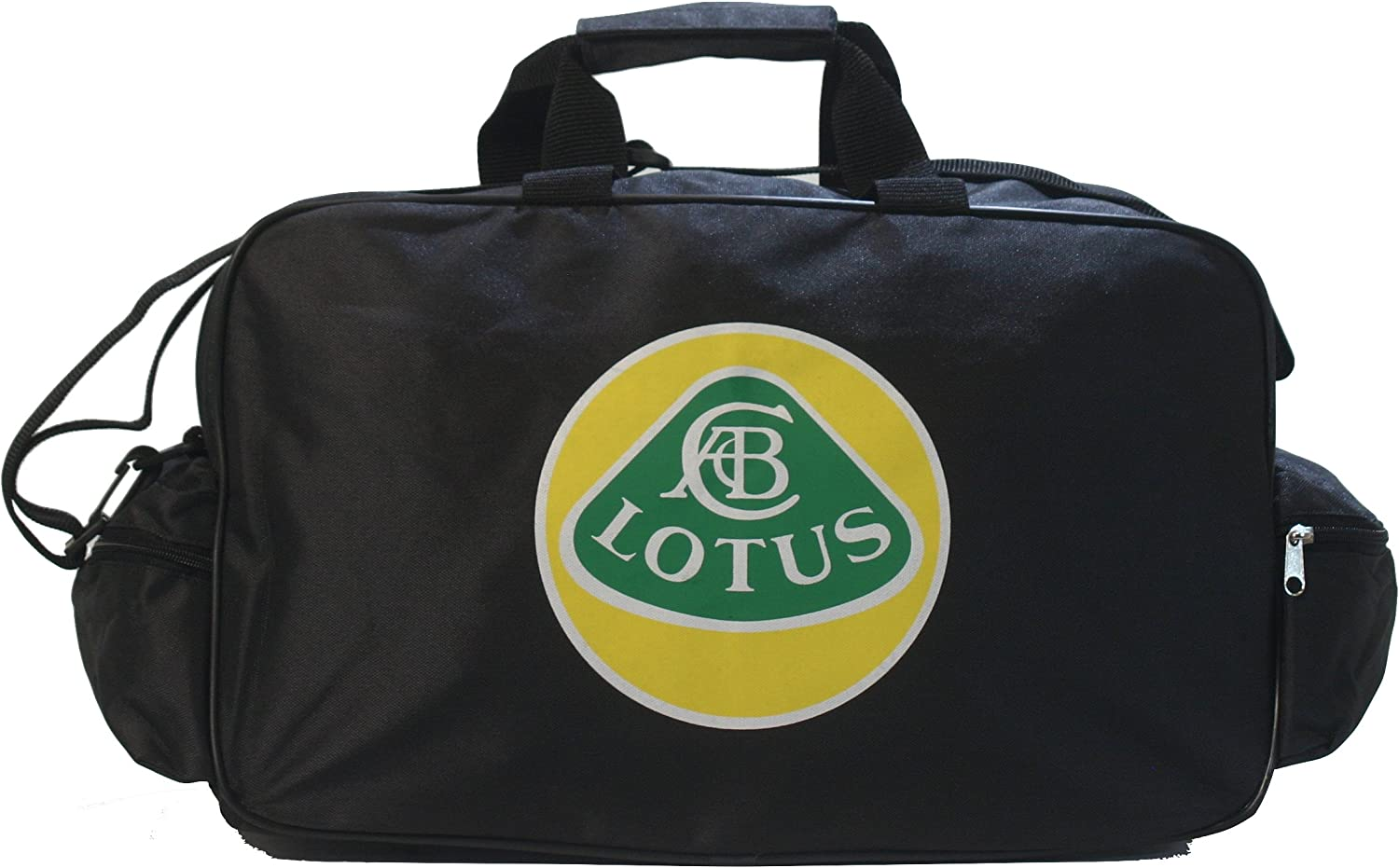 Lotus Logo Duffle Travel Sport Gym Bag backpack