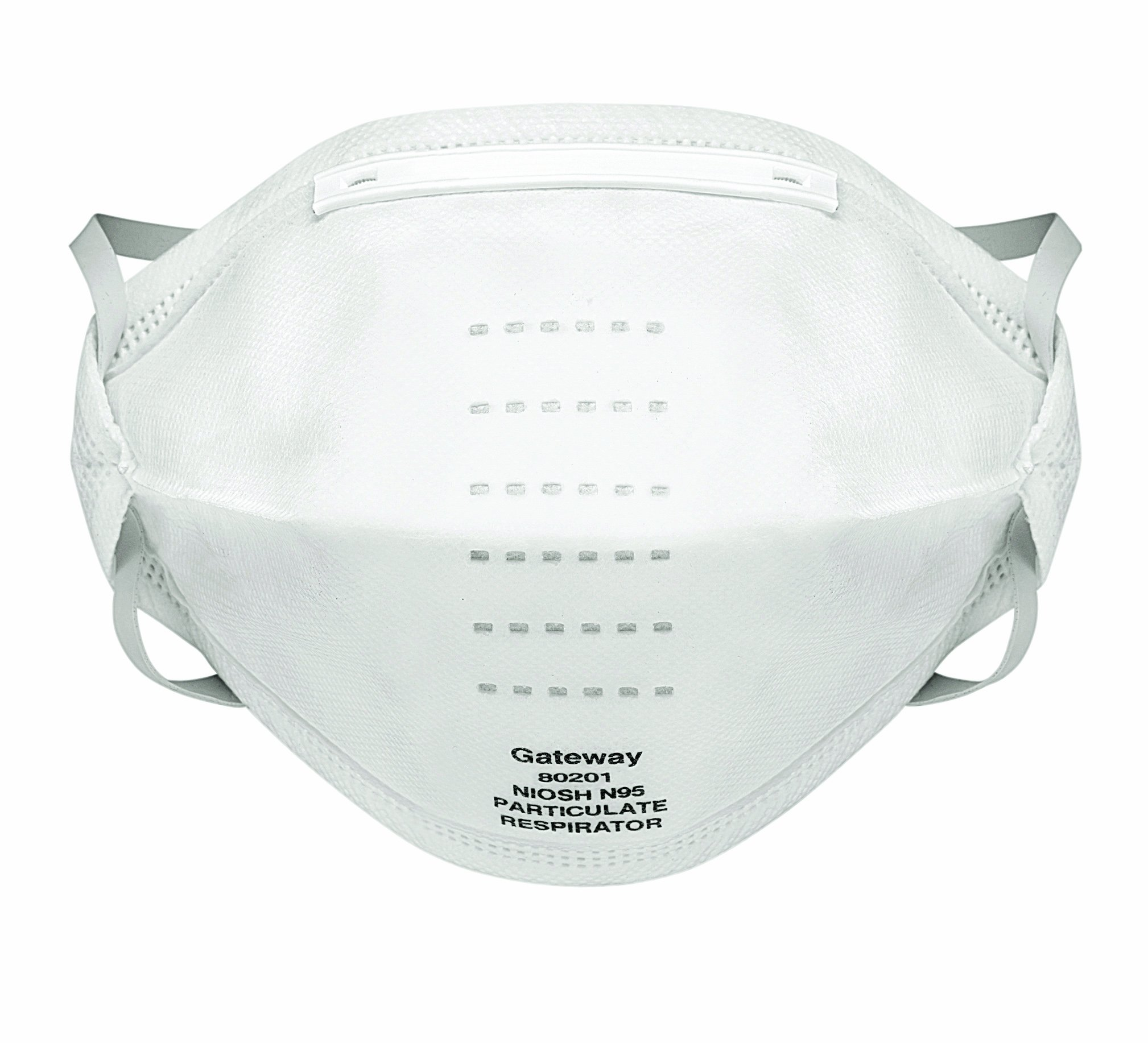 Gateway Safety 80201 SaniFold Unvented N95 Particulate Hygienically-Sealed Respirator (Box of 20)
