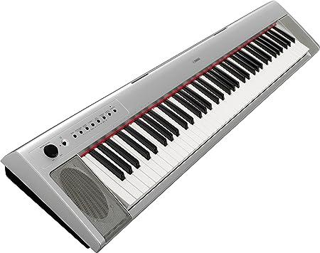 Yamaha NP31S Teclado portátil – Plata
