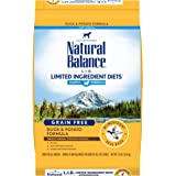 Natural Balance L.I.D. Limited Ingredient Diets Puppy Dry Dog Food, Duck & Potato, Grain-Free