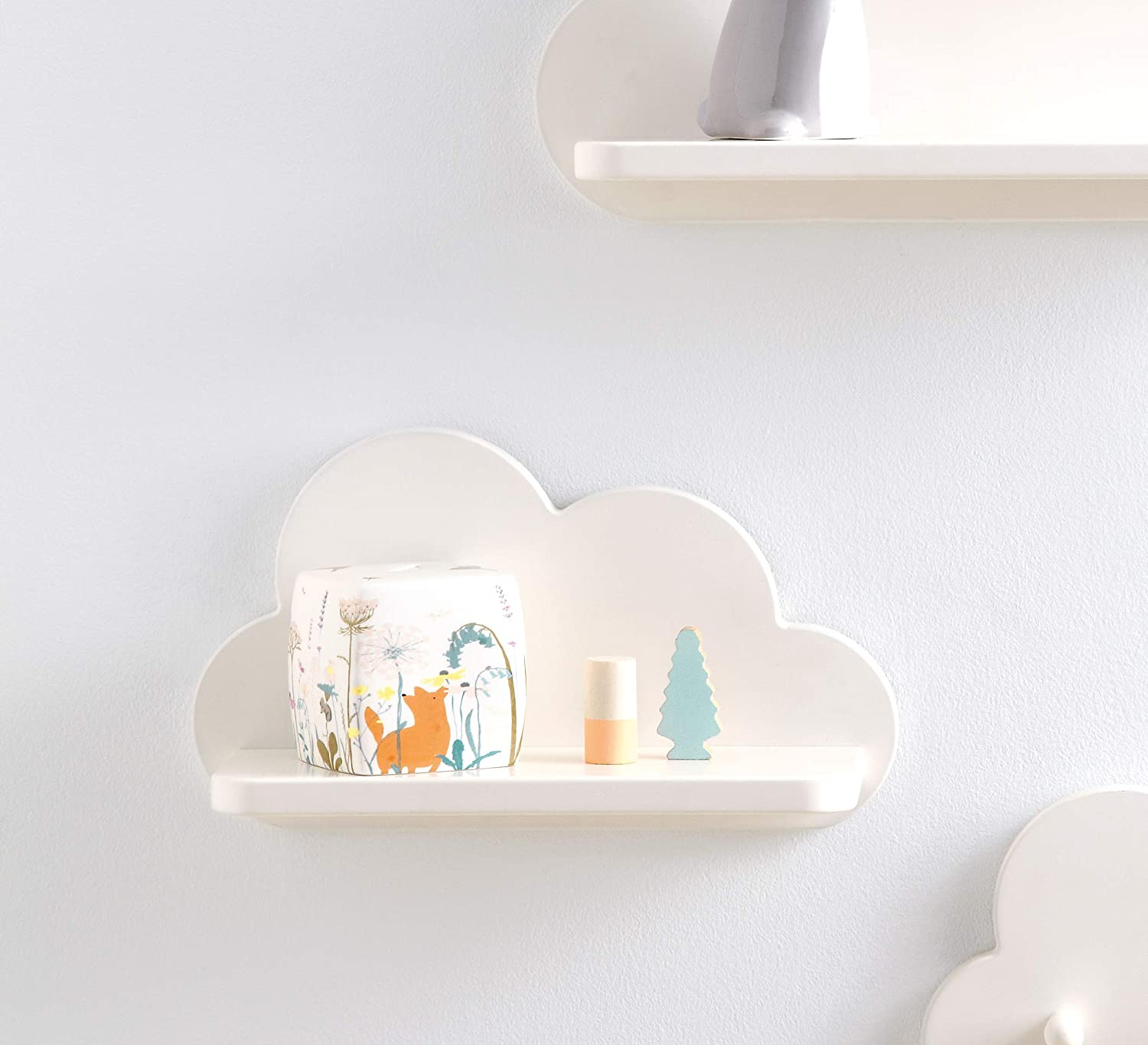 Nursery Cloud Floating Shelf