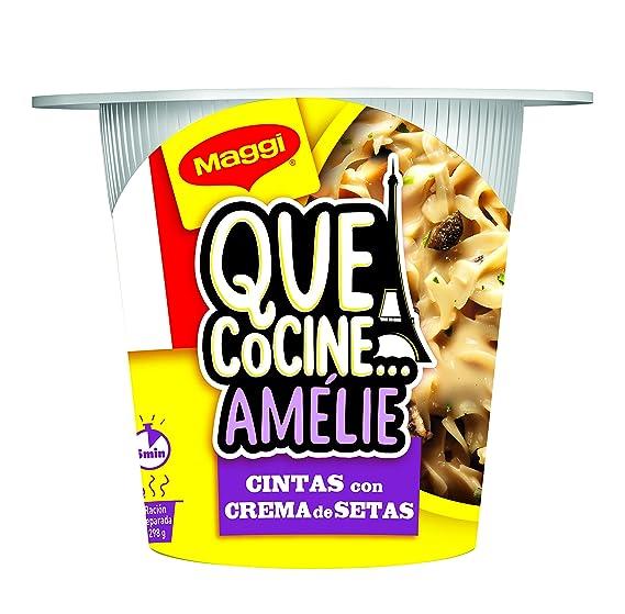 Maggi Que CocineAmlie Pasta a la crema con setas, deshidratada - 1 paquete, 78