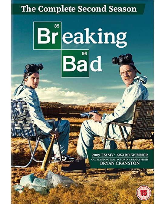 Breaking Bad Season 2 Repackage 4 Dvd Edizione: Regno Unito Reino Unido: Amazon.es: Breaking Bad-Season 2 [Re-Pack: Cine y Series TV