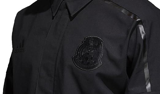 Amazon.com  adidas FMF Mexico ZNE Woven Jacket World Cup 2018 - Black (XS)   Sports   Outdoors e83e30262