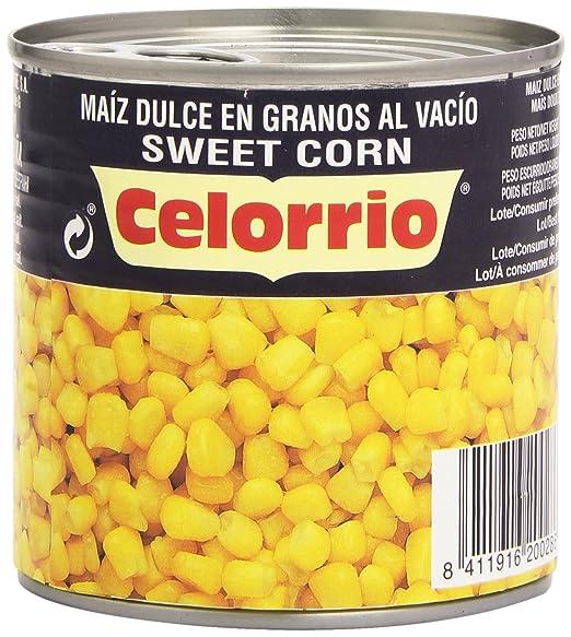 Celorrio - Maíz dulce en granos al vacío - 285 g
