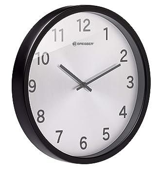 Bresser MyTime Silver Edition - Reloj de Pared (Acero ...