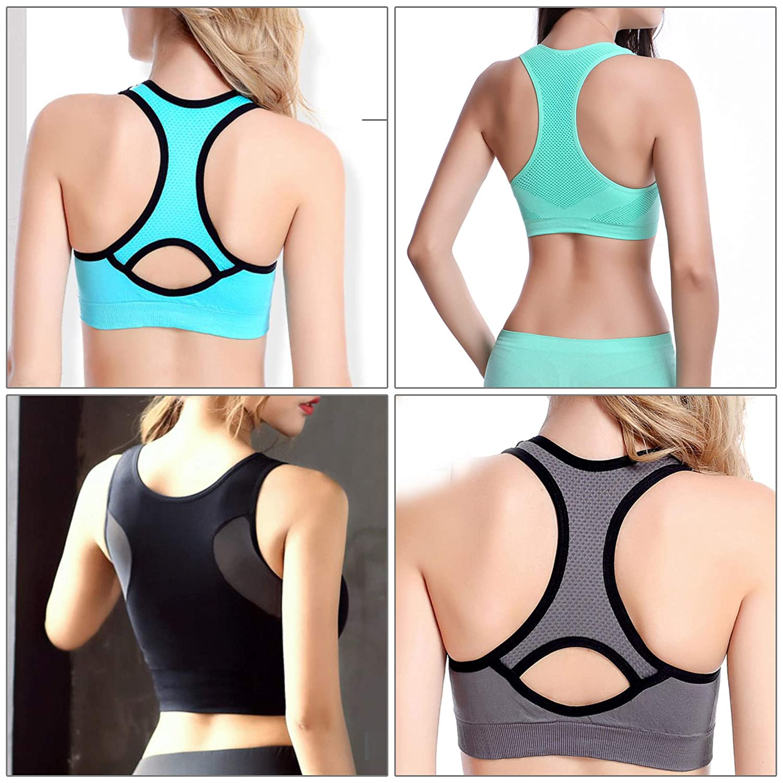 4 Pieces Non-slip Bra Straps Womens Elastic Adjustable Concealing Bra Strap Holder with 16 Pieces Bra Clips Tugaizi 20 Pcs Bra Strap Clips Set