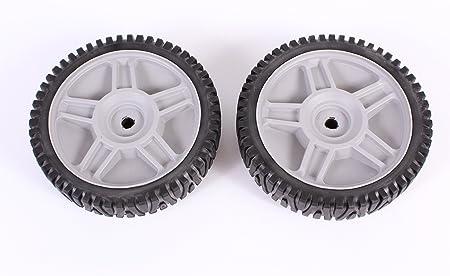 Amazon.com: Conjunto de 2 ruedas de Husqvarna ayp OEM Lawn ...