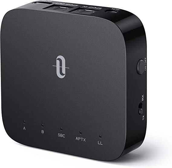 TaoTronics Bluetooth 5.0 Transmitter Receiver with Codec Display