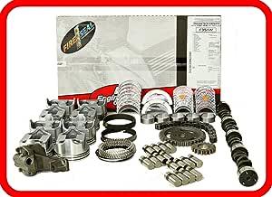 Master Engine Rebuild Kit Fits 1993 1995 Chevrolet Sbc 350 5 7l V8 W Stage 2 Hp Cam Flat Top Pistons Automotive Amazon Com