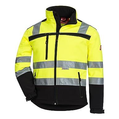 b24724095 Nitras Motion TEX VIZ Hi Vis Softshell Jacket