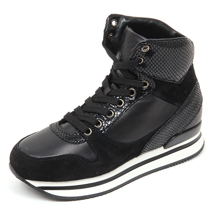 D2984 sneaker donna HOGAN H241 scarpe nero shoe woman