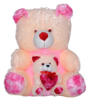 Buy MYBUDDY BIG TEDDY WITH CUTE BABY TEDDY BEAR 65CM Online At Low Prices  In India   Amazon.in