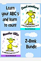Learn your ABC's and learn to count - 2-Book Bundle Kindle Edition