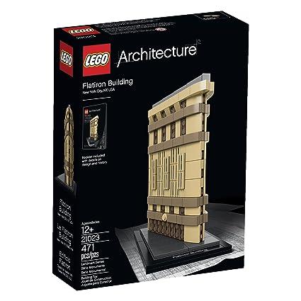 Amazon.com: LEGO Architecture 6101026 Flatiron Building 21023 ...