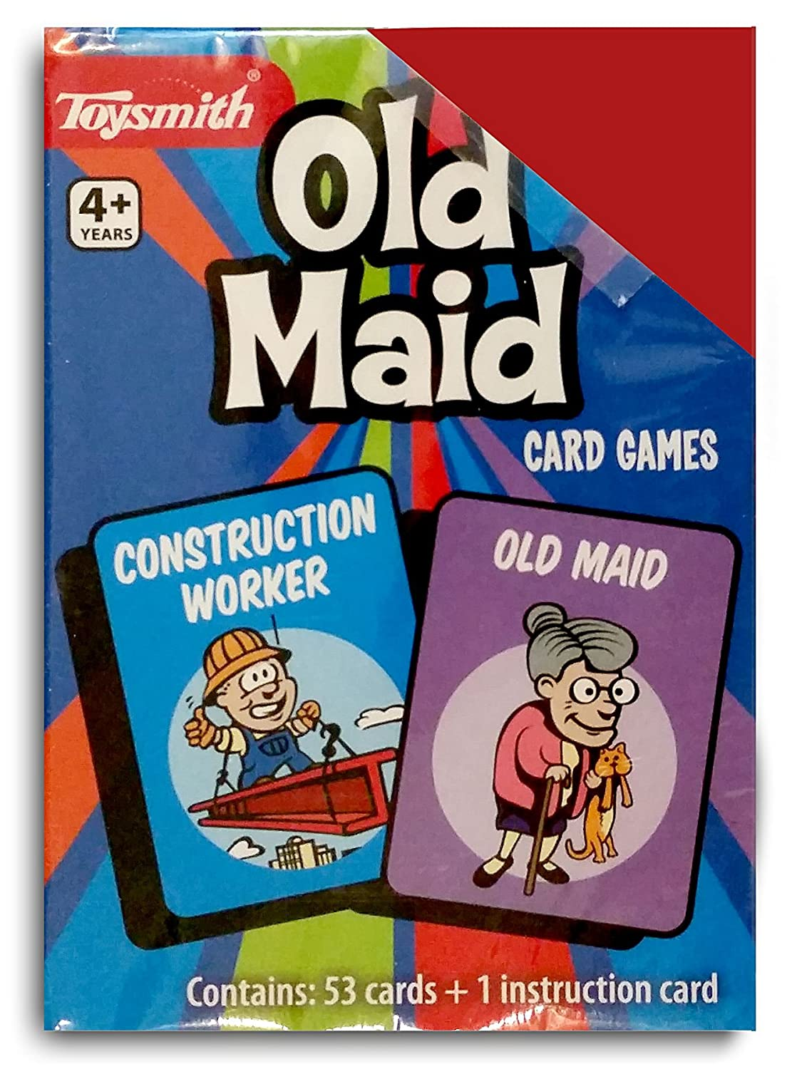 Old Maid Playing Cards By Toysmith