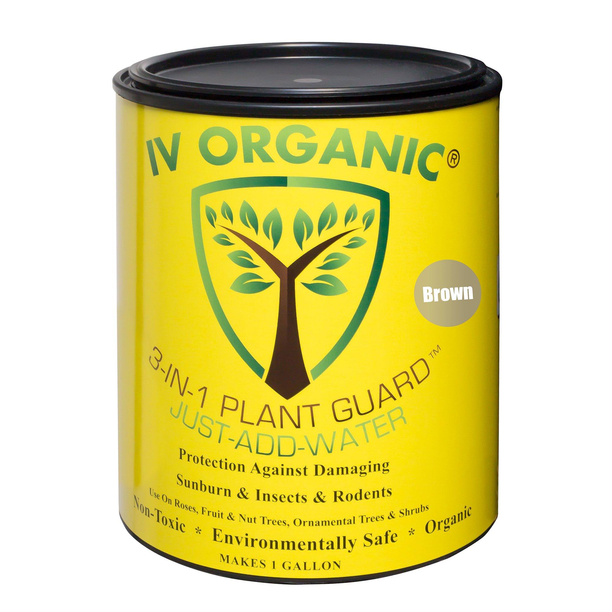 IV Organic 100534644 3-in-1 Plant Guard Brown 1gal