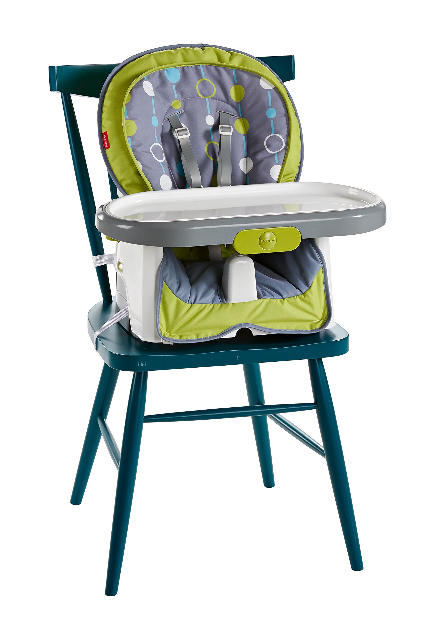 Fisher-Price 4-in-1 Total Clean High Chair, Green/Gray by Fisher-Price (Image #5)