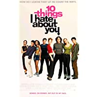 Ten Things I Hate About You (1999) Movie Poster 28x43cm(11x17in)
