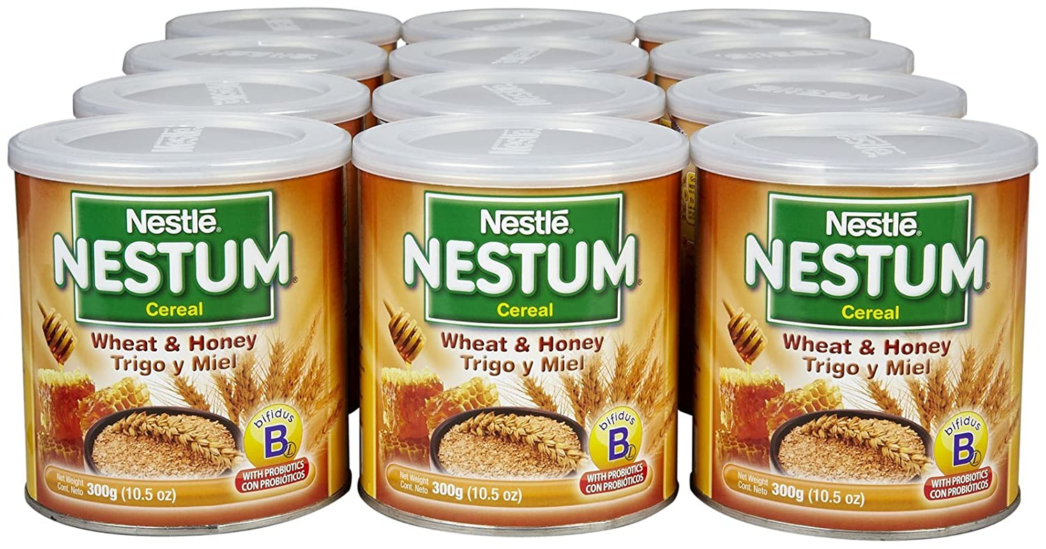 Nestum Baby Cereal - Wheat and Honey - 10.5 oz - 12 Pack: Amazon.com: Grocery & Gourmet Food