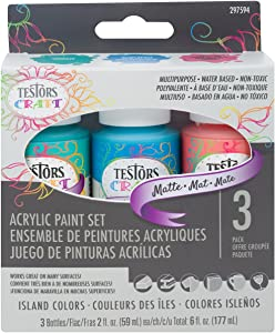 Testors Craft Acrylic Paint Kit, Multicolor