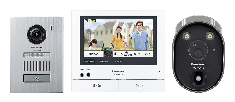 パナソニック(Panasonic) ワイヤレスカメラ付テレビドアホン VL-SVH705KSC B01M704MKP