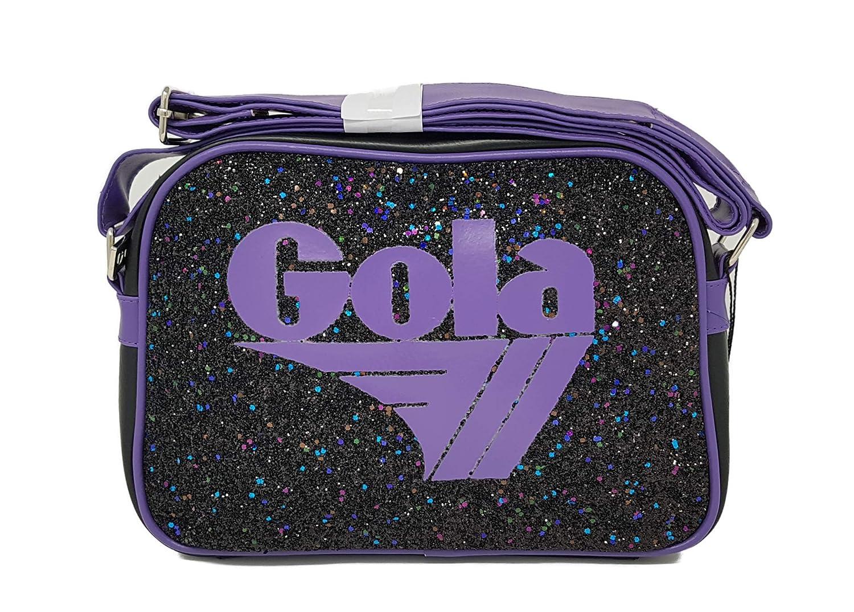 Gola, Damen Umhängetasche schwarz-lila W30 W30 W30 CM X 8 X H22 CM B07FS86WQ6 Umhngetaschen Neue Sorten werden eingeführt a81e80
