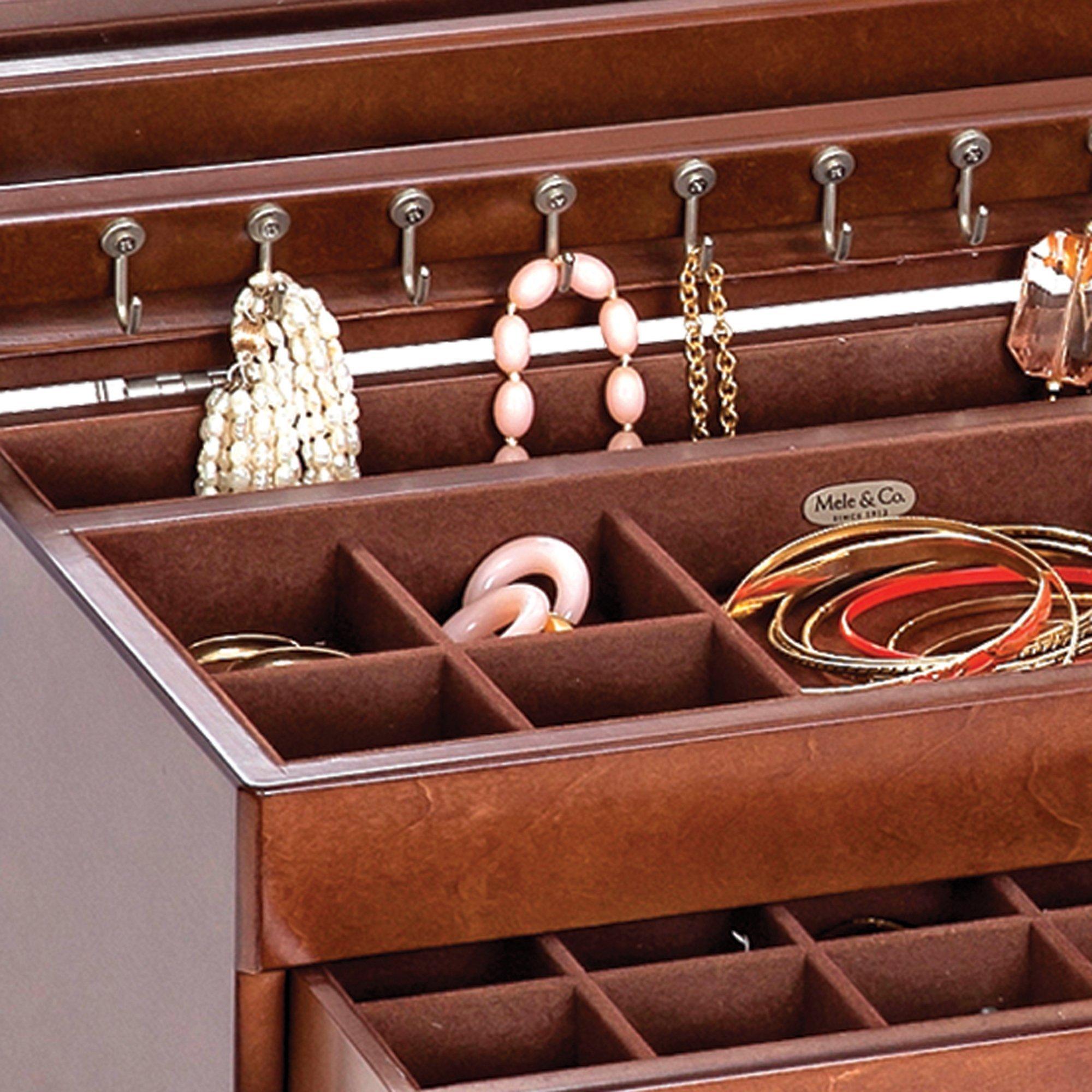 Mele & Co Brigitte Wooden Jewelry Box by Mele & Co. (Image #3)