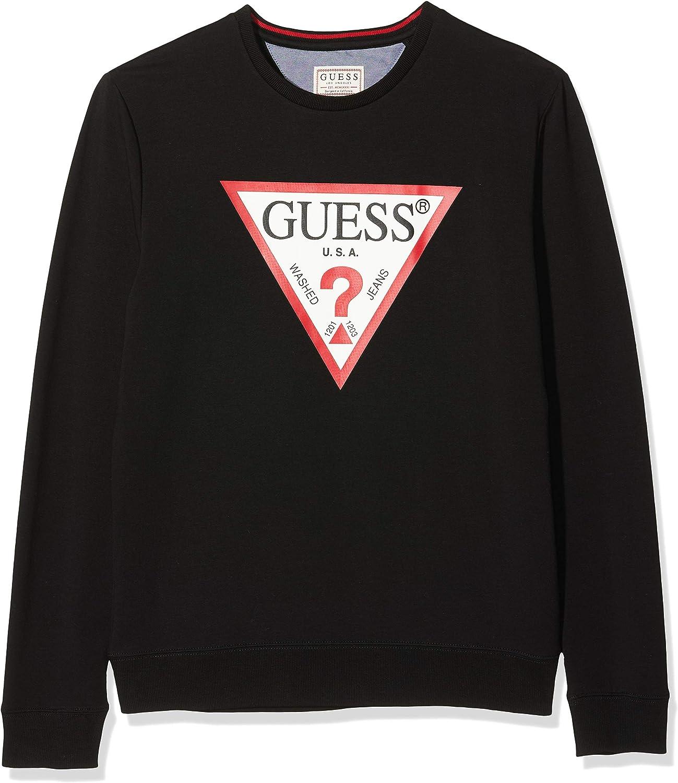 Guess Vin Cn Fleece Jersey para Hombre