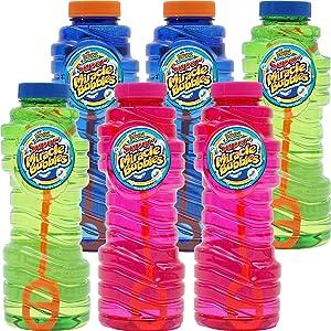 Imperia Bubble Solution 16oz Bubble Refill Bottles. (Pack of 15)