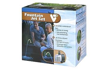 VT, Jet d\'eau avec éclairage LED pour bassin d\'agrément, Fountain ...