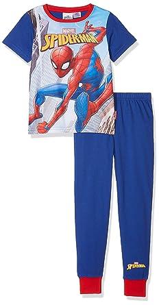 86fc8a9b99406 Spiderman Marvel Ensemble de Pyjama Garçon  Amazon.fr  Vêtements et ...