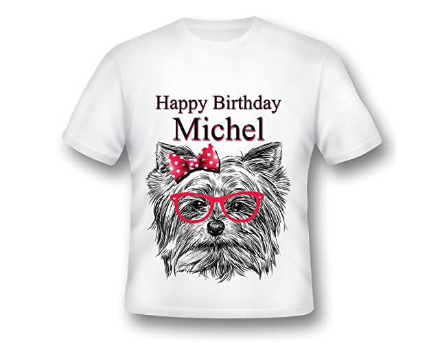 Custom Dog Birthday Printed Shirt Party Ideas