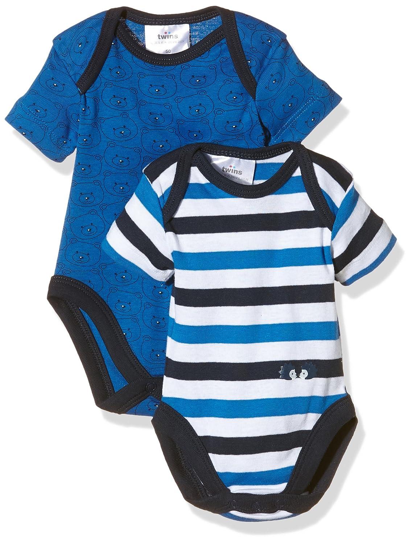 Pacco da 3 Twins Body a Manica Corta per Beb/è