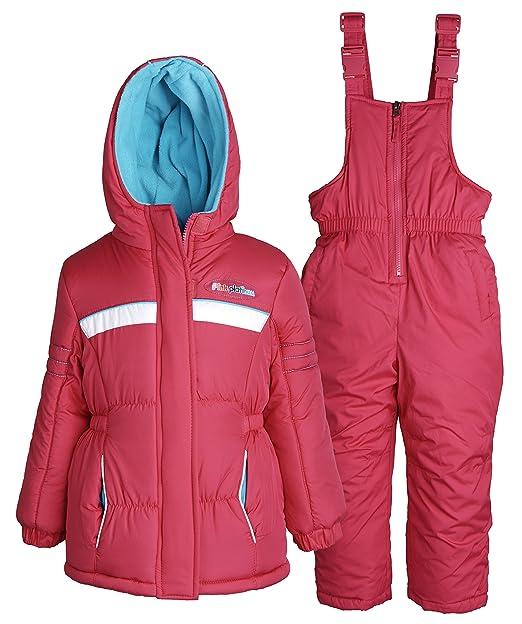 1c16b4d29 Amazon.com  Pink Platinum Baby Girls Down Alternative Snowboard ...